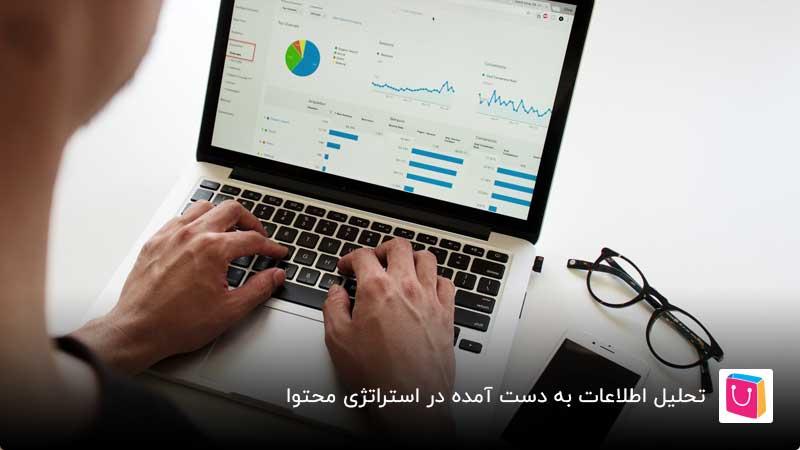 تحلیل اطلاعات بدست آمده در استراتژی محتوا