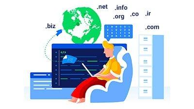 ادرس سایت با دامین اختصاصی