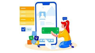 طراحی واکنشگرا در موبایل و تبلت